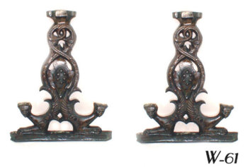 Bronze Griffin Table sidepieces
