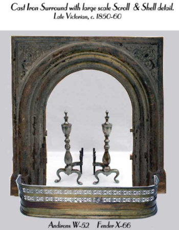 Cast Iron Victorian Surround