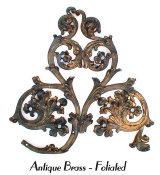 Antique Brass - Foliated
