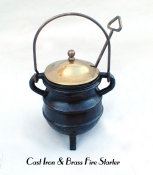 Cast Iron & Brass Fire Starter