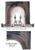 Cast Iron Victorian surround - view